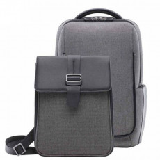 Рюкзак + сумка Xiaomi Fashion Commuter Backpack Gray (серый)