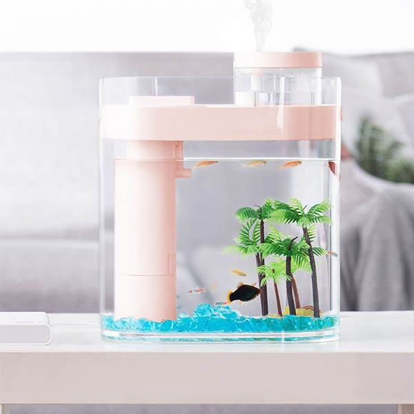 Акваферма Xiaomi HFJH Amphibian ECO-Aquarium Aquaponics Youth Edition Pink (розовый)
