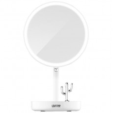 Зеркало для макияжа с подсветкой Xiaomi Lofree Morning Light LED Beauty Mirror Official Standard (2000 mAh, 3W)