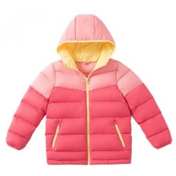 Куртка детская Xiaomi ULEEMARK Children's Light Down Jacket (140/68, Розовый)