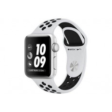 Часы Apple Watch Nike + Series 3 38mm Aluminum Case with White Sport Band