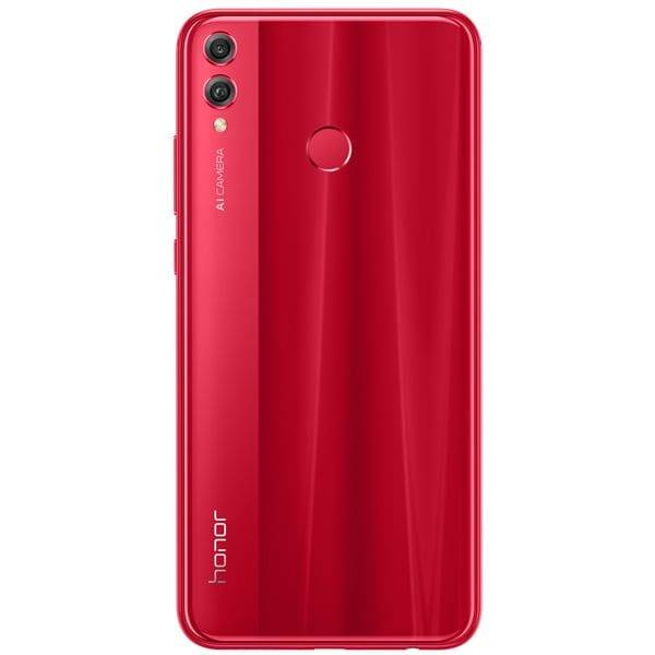 Huawei Honor 8x; 128Gb Красный (Red) (РСТ)