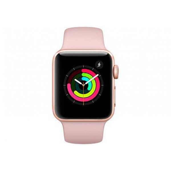 Часы Apple Watch Series 3 42mm Aluminum Case with Pink Sport Band: характеристики