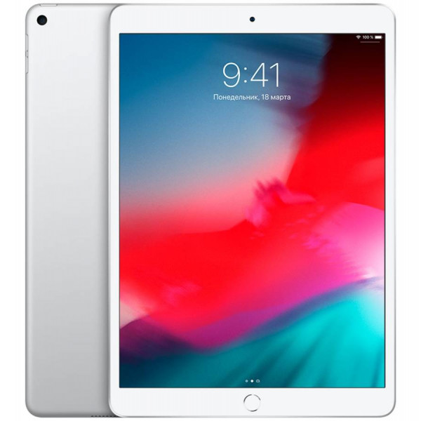 "Apple iPad Air (2019) 10,5"" Wi-Fi 64 ГБ, Silver (Серебристый)"