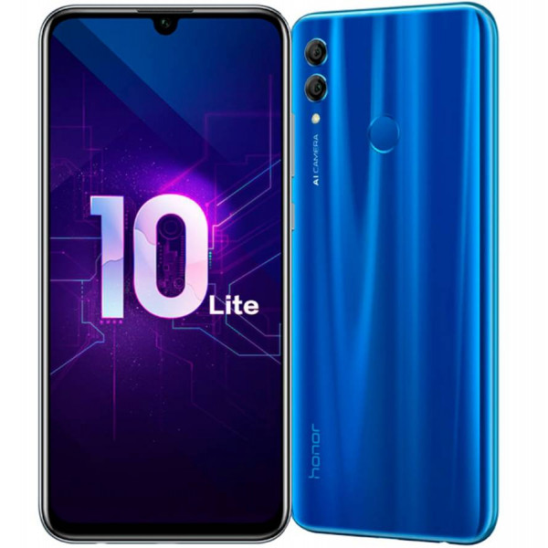 Huawei Honor 10 Lite; 3/64Gb Sapphire Blue (Сапфировый Синий) (РСТ)