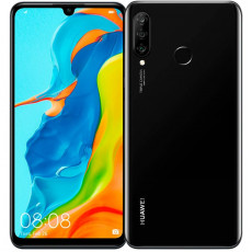 Huawei P30 Lite New Edition 6 / 256 Gb Полночный черный / Black (Ростест)