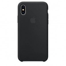 Чехол Apple Silicone Case для iPhone X Black