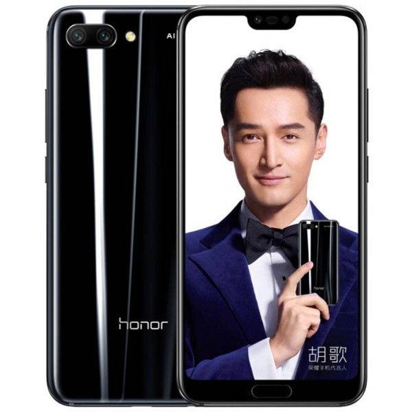 Huawei Honor 10; 128 Gb Midnight Black (Полночный черный) (US)