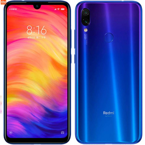 Xiaomi Redmi Note 7; 4Gb / 128Gb (Global Version)  Blue / Синий