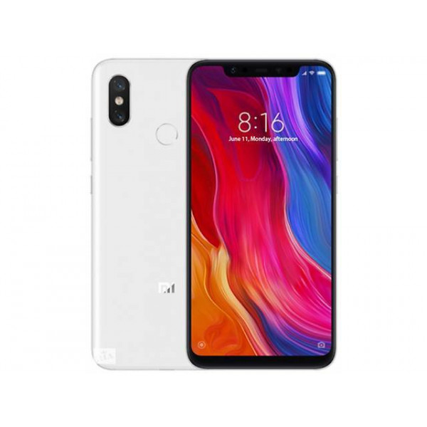 Xiaomi Mi 8; 6 / 128 GB Global Version Белый (White): комплектация