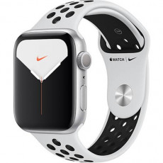Часы Apple Watch Series 5 Nike+ 44mm Silver Sport Band (серебристый)