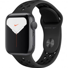 Часы Apple Watch Series 5 Nike+ 40mm Space Grey Sport Band (серый космос)