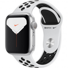 Часы Apple Watch Series 5 Nike+ 40mm Silver Sport Band (серебристый)