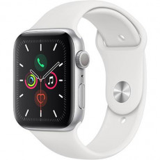 Часы Apple Watch Series 5 44mm Silver Sport Band (серебристый)
