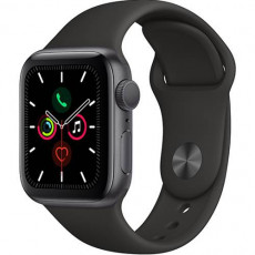 Часы Apple Watch Series 5 40mm Space Grey Sport Band (серый космос)
