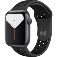 Часы Apple Watch Series 5 Nike+ 44mm Space Grey Sport Band (серый космос)