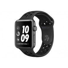 Часы Apple Watch Nike + Series 3 38mm Aluminum Case with Black Sport Band