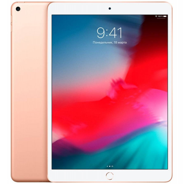"Apple iPad Air (2019) 10,5"" Wi-Fi + LTE (Cellular) 256 ГБ, Gold (Золотой)"