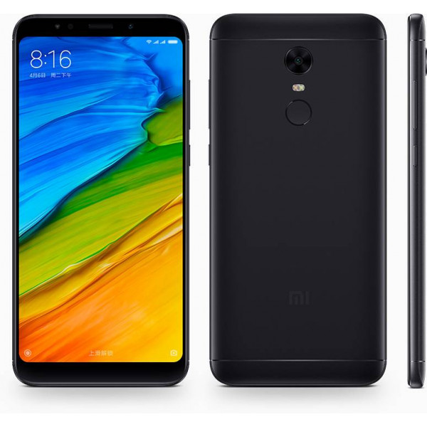 Xiaomi Redmi 5 Plus; 3 Gb / 32 Gb Black (Черный) EU Global Ver.