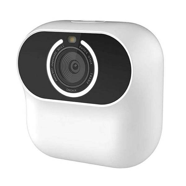 IP камера Xiaomi XiaoMo Small Silent AI Camera 13MP Smart Gesture Recognition (белый)