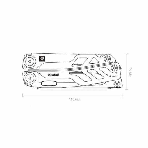 Мультитул Xiaomi Huo Hou Nextool Multi-Function Knife