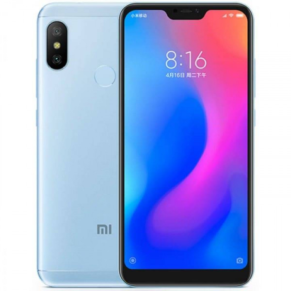 Xiaomi Mi A2 Lite 4 Gb / 32 Gb (Global Version) Blue / Голубой: вопрос-ответ