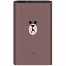 Внешний аккумулятор Xiaomi Mijia Charging Baogao Version Power Bank Limited Edition (10000 mAh, коричневый)