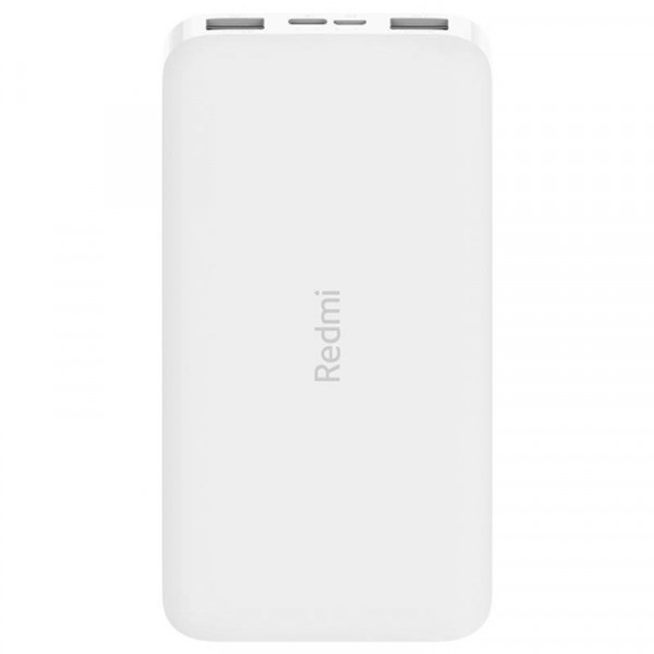 Внешний аккумулятор Xiaomi Redmi Power Bank Fast Charge Standard Edition (10000 mAh, белый)