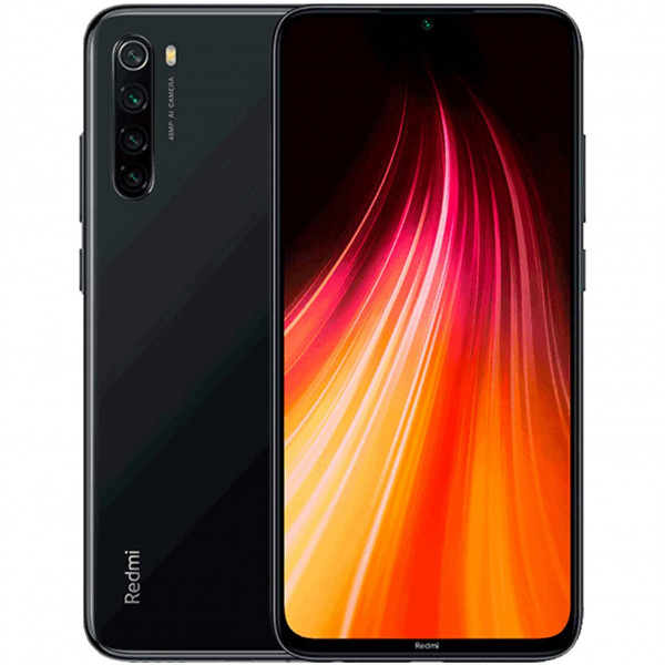 Xiaomi Redmi Note 8 4/128Gb Space Black / Черный (Global Version)