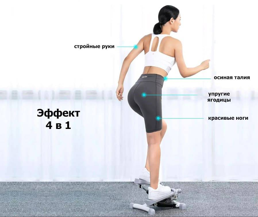 Степпер тренажёр Xiaomi XQIAO Beautiful Legs Thin Waist Mini Stepper