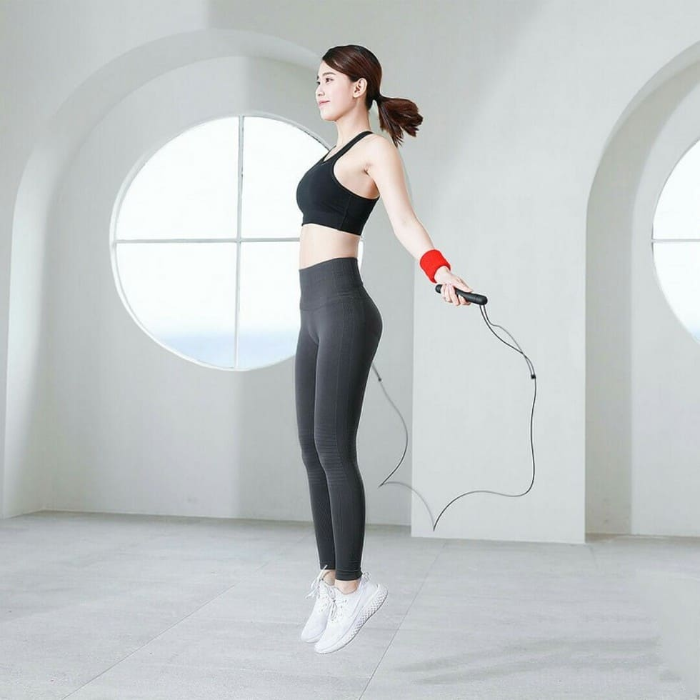 Умная скакалка Xiaomi Yunmai Intelligent Training Jump Rope (Черный)