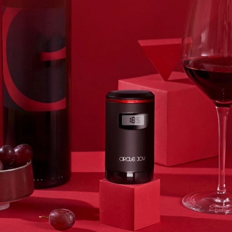 Вакуумная пробка для вина Xiaomi Circle Joy Electric Vacuum Stopper Wine Preservation Plug